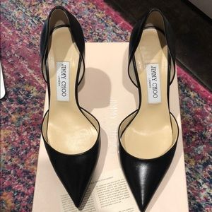 Jimmy Choo Black Addison pumps 37